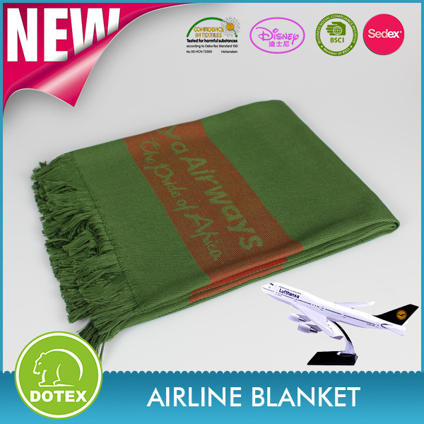 2017 Fire Retardant Machine Washable Multifunction wholesale mora crochet nano Airline Blanket