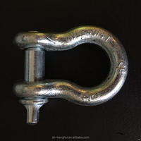 China gold supplier trade assurance u-shaped steel shackle