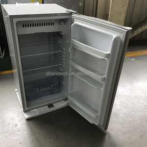 Mini 90L refrigerator solar power dc compressor fridge 12V/24V dc 12v car portable fridge