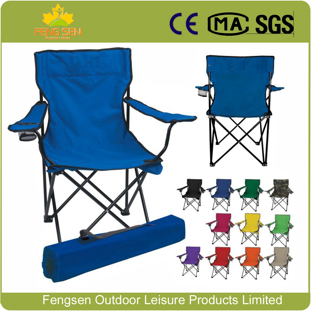 Wholesale High Quality 600D Oxford Fabric Lightweight camping chair Folding Chair Camping Chair with Arm