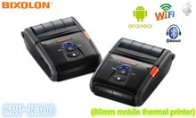 80mm mini mobile bluetooth receipt printer SPP-R300 for Ipad and support windows 8 driver