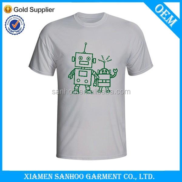 Custom Print Cotton T Shirt Wholesale Screen Printing High