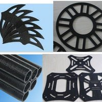 Carbon Fiber CNC Machined Parts CNC