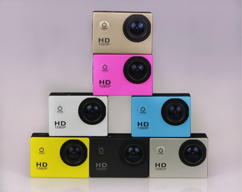 shenzhen factory outlet waterproof camera 1080p cheapest price 20usd /pcs