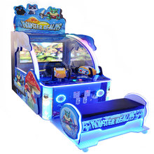 Indoor playground equipment video shooting game machine for sale