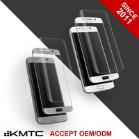 KMTC OEM ODM 3D Anti Smudge Glass Screen Protector for Galaxy 6 S6 Edge