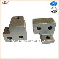 High quality lost wax process small steel casting components