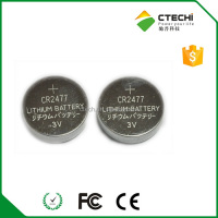 3 volts lithium CR2477 battery,cr2477 with solder tabls