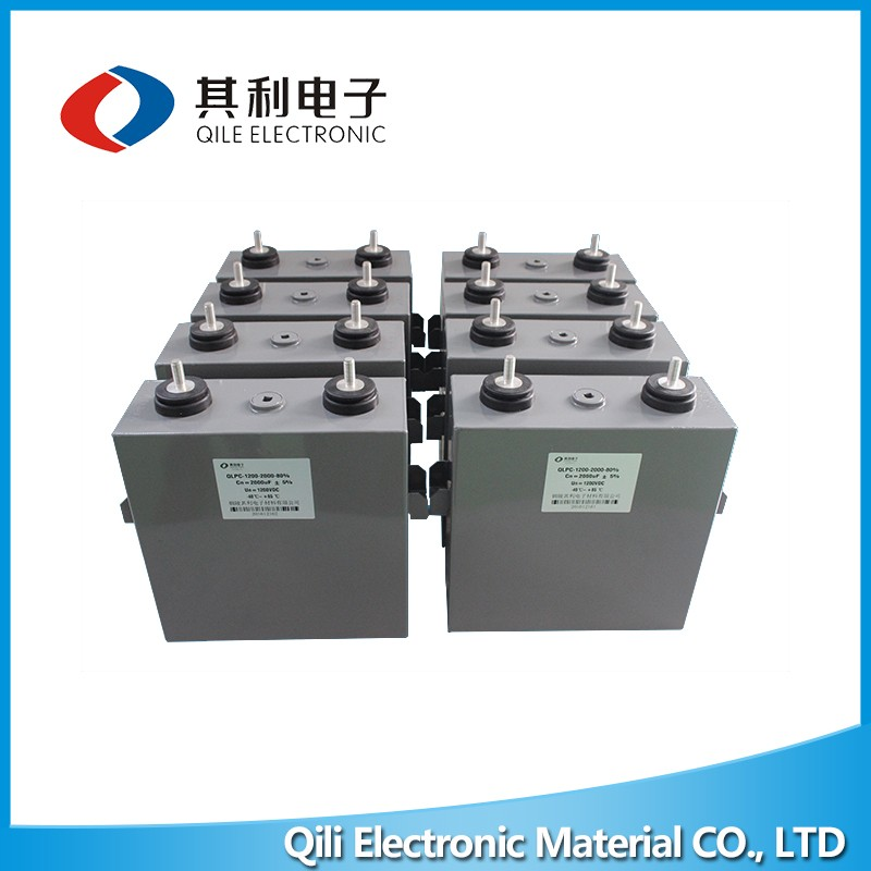 High voltage aluminum electrolytic power electronic pulse capacitor