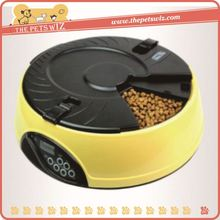 Flexible double pet feeder ,h0tnd digitally timed automatic pet feeder for sale