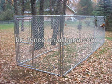 Hot dip galvanized chain link fence for dogs kennel