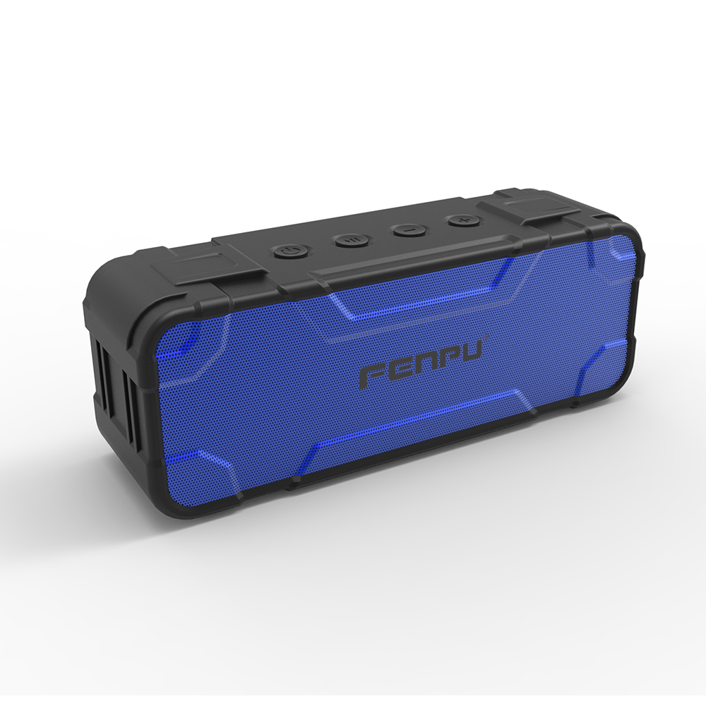 Powerful HIFI rechargable bluetooth speaker 30w mini speaker with 4.0 Bluetooth and 2 amplifier,2 bass
