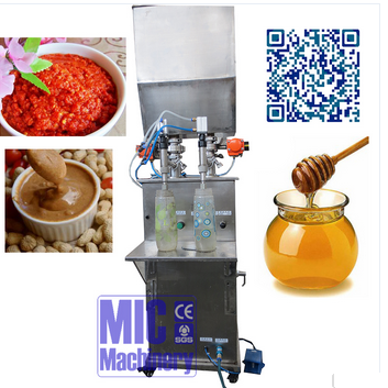 High quality Micmachinery semi-automatic vegetable oil filling machine
