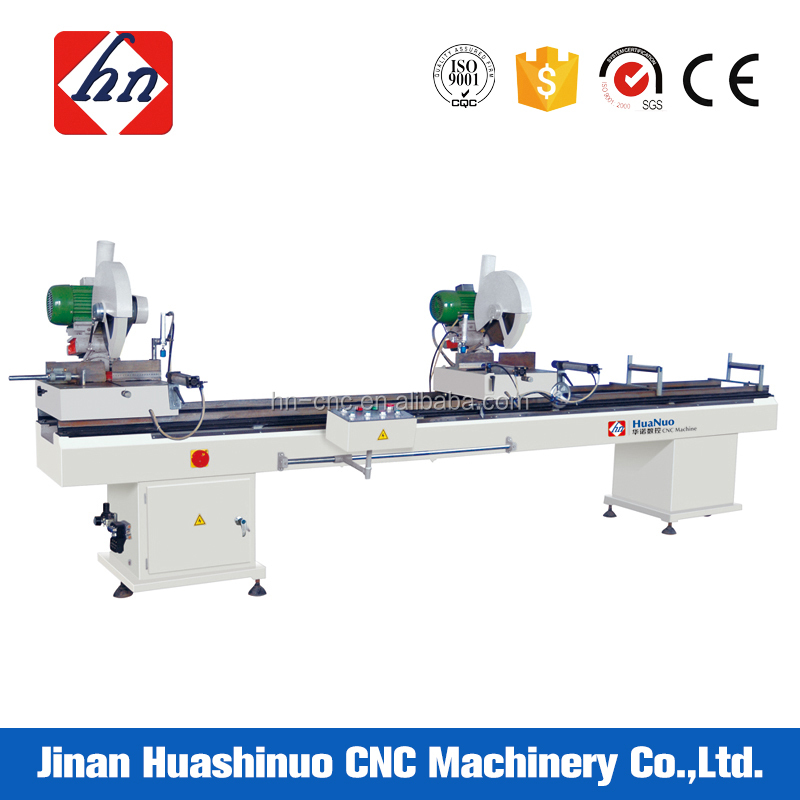 Double-head Aluminum Saw PVC Profile 90 45 Degree Cutting Machines