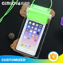 Chinese supplier selling casual waterproof PVC mobile phone bag