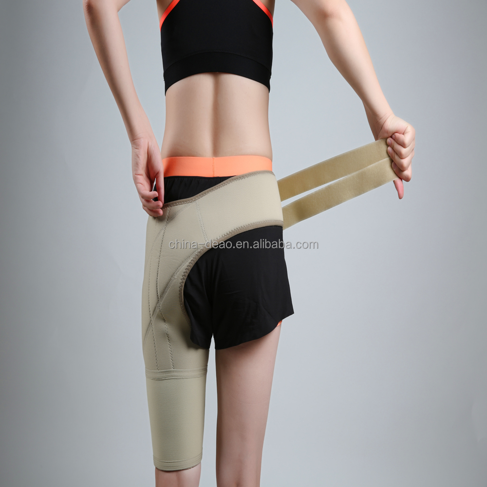 DAJZ301 Elastic hip support brace for adult hip