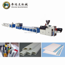 pvc window profile making machine/pvc deco profile extrusion line