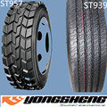 china tyre factory new truck tyre 13R22.5 ST957 with GCC ECE EU