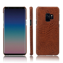 New coming models crocodile pattern leather back case cover for Samsung Galaxy S9/S9 plus