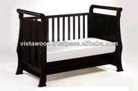 4 in 1 crib bed , convertible crib , baby playpen