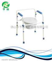 Cheapest low price simple commode chair for elderly