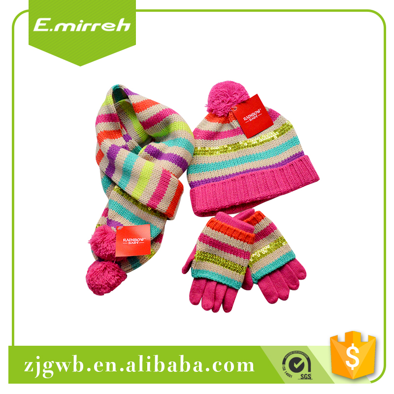 Wholesale price embroidered custom cotton gloves price