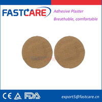 CE approved new design strong glue adhesive round bandage