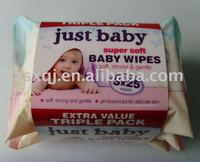 baby wet tissues travel pack