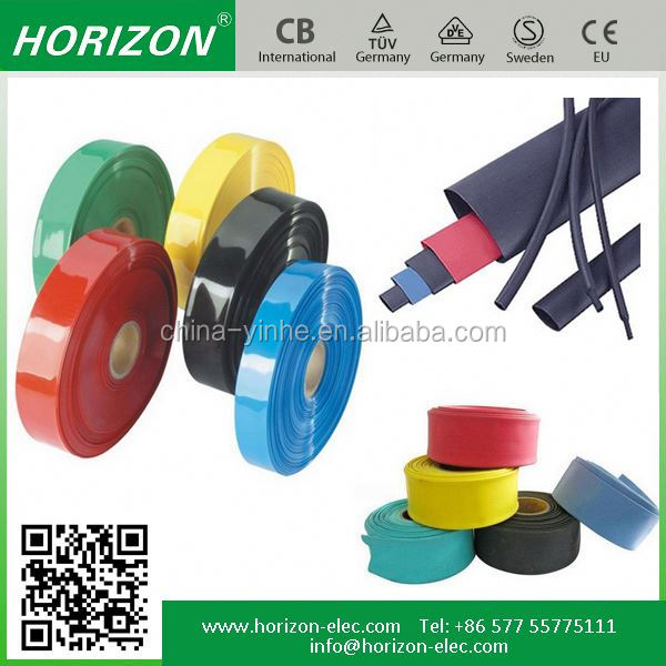 high quality colorful Polyolefin Heat waterproof heat shrink tube sleeving