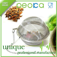 Stainless steel mesh tea ball infuser / tea strainer tea tools