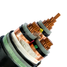 26~35kv three core phase power cable XLPE insulated SWA armoured underground cable