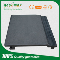 ISO proved gray wpc outdoor wall panel