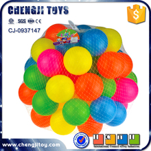 Plastic sea ball toy ball pit balls bulk colorful