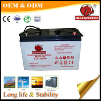 Gel battery 12v 110ah & Storage Batteries 12v 110ah tubular gel batteries