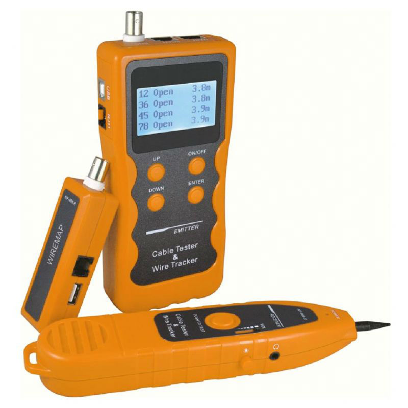 Lan network cable length tester