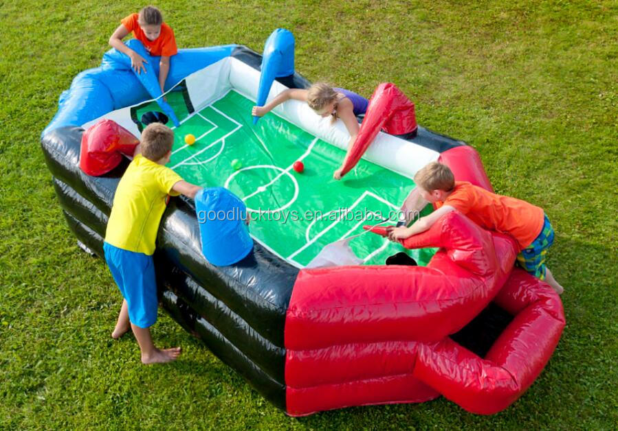 Hot sale inflatable baby airball sport game,inflatable potato floating ball game
