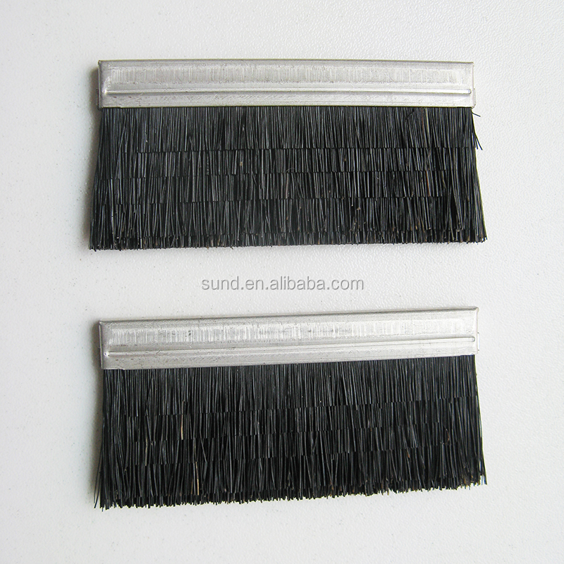 Black horse hair fiber computerized flat knitting machines cleaning <strong>brush</strong>