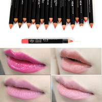 2016 Fashion Waterproof Lip Liner Pencil Eyebrow Makeup Cosmetic Lipliner