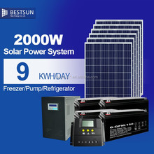 Bestsun CE TUV standard anti dumping free poly 250w Pv Module 24Vsolar panel with lower price 2kw portable solar power generator