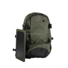17 inch waterproof nylon outdoor travel military solar power backpack