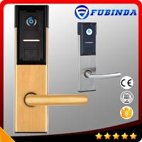 factory price rfid card security electric handle safe electronic hotel smart keyless fingerprint digital door lock