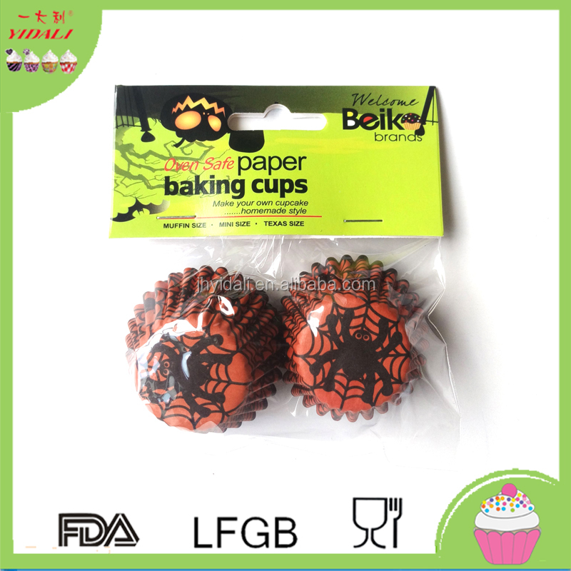 Food Grade Paper Muffin Cups,Non-Stick Baking Cup,Logo Printed Cake Cup