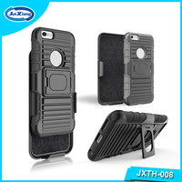 Free Sample 3 in 1 Holster Robot Mobile Phone Case for iPhone 6