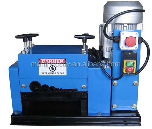 Professional cable stripper for scrap waste wire recycling for Electric motor recycling machine