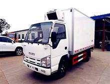Japan top brand 5 tons truck refrigerator 5 tons refrigerator cooling van for sale
