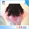 Disposable plastic cape pe hair cutting cape hair coloring capes