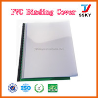 Thin thickness pvc sheet price for binding market
