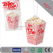 Custom Paper Car air freshener popcorn flavorings for cars wholesale