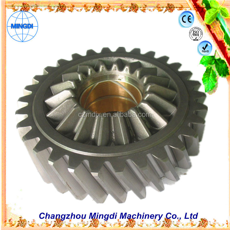 changzhou machinery Differential Spur gear Parts/ Steel Small Pinion tactical gear planetary gear