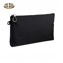 spring and summer new men's hand bag.Black waterproof cloth art youth simple business style.